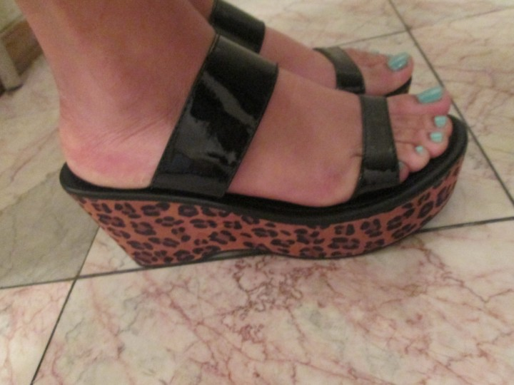 Great Finds — Cheetah & Patent LeatherFlatforms