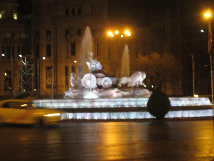 Fountain in Porto Acalá