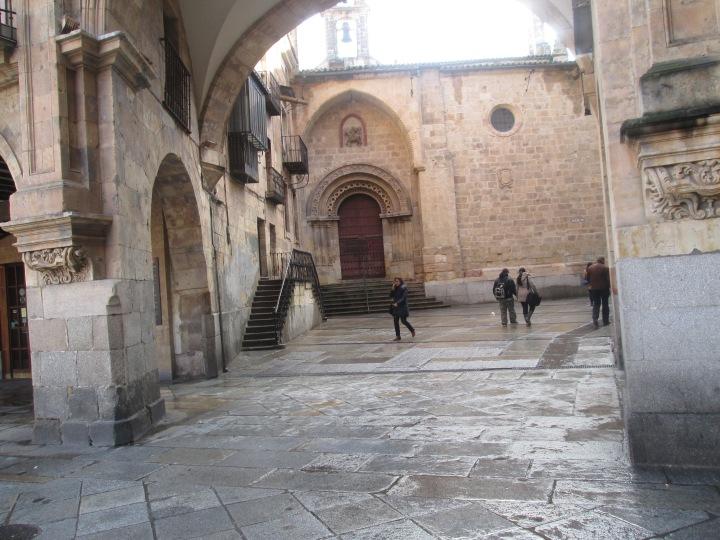 Passageway in the Plaza Mayor of Salamanca